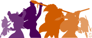 Purple vs Orange by Tastes-Like-Fry