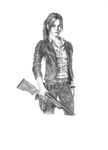 Claire Redfield (Revelations 2) - No background by ZigArtwork