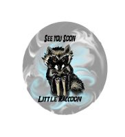 See you Soon little Raccoon by Caium