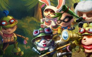 League of Legends- Teemo Wallpaper! by Atluss