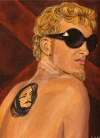 Layne Staley by landofsunshine