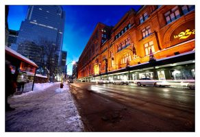 Montreal at Night 59 by Pathethic