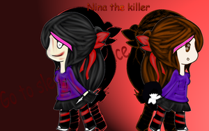 Nina the killer by gumi1zanahoria