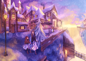 Snow Town by Wiki234