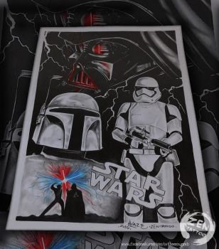May the FORCE be with you drawing by bLazeovsKy