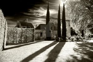 Priory of Saint-Cosme France 2 by MJ-Ach
