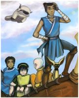 Sokka: The Navigator by bobangeba