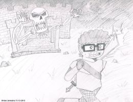 Skeletron Has Awoken by BrotherGrapefruit