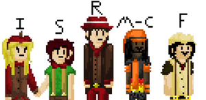 8 BIT Version of My old Ocs by TickingGears