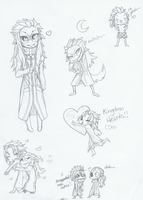 Saix and others by Yosh9