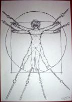 Vitruvian Enchained by dope-fairy