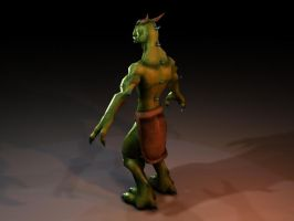 Low Poly Dragon 3 by JakeGreen