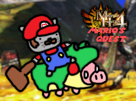 Monster hunter 4 Mario's quest by thegamingdrawer