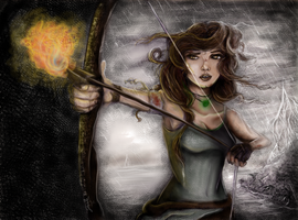 Be Brave Lara-Tessie Clune by tessieart333