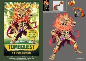 Tombquest 4: The Stone Warriors (Head Tosser) by Nidaram