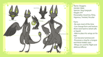 Sluggins Refsheet by Densetsugin