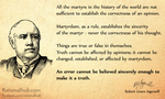 Robert Green Ingersoll on Martyrdom and truth.. by rationalhub