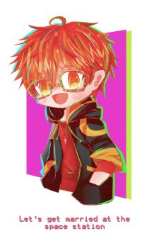 707 - Let`s get married at the space station by haru-katsu