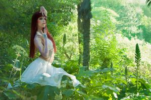 Forest White Witch by KahinaSpiritModelPh