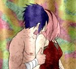Sasuke Sakura - Mine to Kiss by SupremeDarkQueen