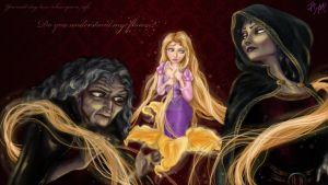Mother Gothel Transformation by MattesWorks