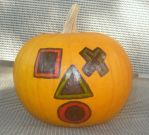 The Playstation Pumpkin Head by KambalPinoy