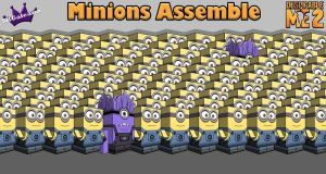 Minions Assemble Despicable Me Cubeecraft by SKGaleana