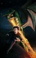 Out Run the Dragon by JennLaa