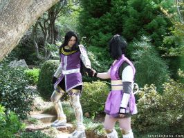 SW - Mitsuhide and Ranmaru by level4chaos
