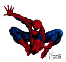 Spiderman Colors - Giu by BonGiuovi