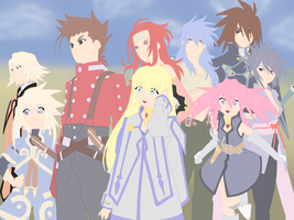 tales of symphonia by twinlightownz