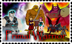 Primal Warrior Stamp by BennytheBeast
