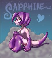 Sapphire by sugar-cat-candy