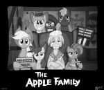 The Apple Family by wolfjedisamuel