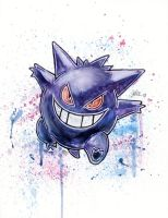 Gengar - [COMMISSION] by LukeFielding