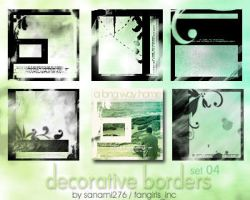 Decorative borders 04 PS7 by Sanami276