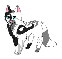 Canine Adoptable-5 points by GrowlitheArtistGirl