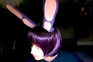 FNaF: Bonnie's Ears and Wig (Side View) by KittyUlquiorra