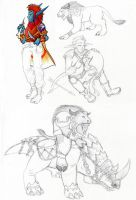WoW Commission Examples by ShiroRyu927