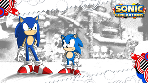Sonic Generations Wallpaper by Ds-Seraphim