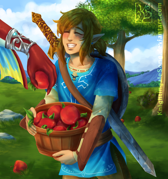 Apples Galore [BOTW] by KnightingaleSong