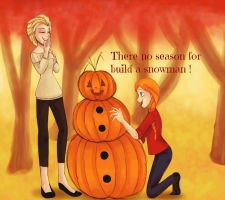Do you want to build a pumpkinman? by TheBirdFromTheMoon
