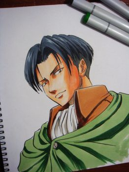 Levi Rivaille by HidroTheHedgehog