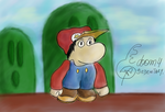 Little Mario by doonystart