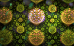 green balls with lights by Andrea1981G