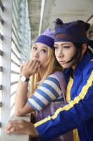 Izumi and Koji - Digimon Frontier cosplay by shuukichi