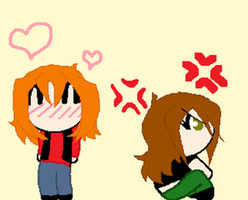 Jac and Becca -animation test- by i-luv-u-dib-83