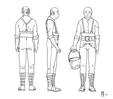 Male peasant 1 concept clad by Tommi-75