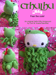 Cthulhu Kitty (Original Pattern) by BrigetteMora