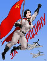 For the Motherland! by Soviet-Superwoman